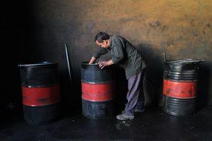 12  Miner  Choghart Iron mine  300x200 - Iranian Miners 2014-2017